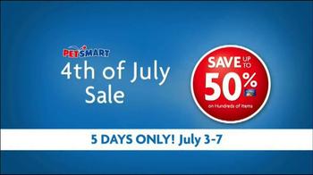 PetSmart Fourth of July Sale TV Spot - Thumbnail 5