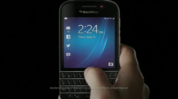 BlackBerry Q10 TV Spot, 'It's Time' - Thumbnail 1