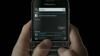 BlackBerry Q10 TV Spot, 'It's Time' - Thumbnail 2