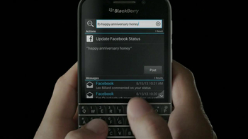 BlackBerry Q10 TV Spot, 'It's Time' - Thumbnail 3