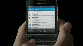 BlackBerry Q10 TV Spot, 'It's Time' - Thumbnail 4