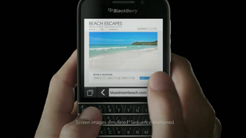 BlackBerry Q10 TV Spot, 'It's Time' - Thumbnail 6