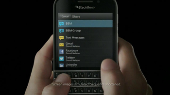 BlackBerry Q10 TV Spot, 'It's Time' - Thumbnail 7