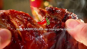 Chili's La Cena Para dos por $20 TV Spot, 'Fajitas y Costillas' [Spanish] - Thumbnail 2