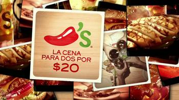 Chili's La Cena Para dos por $20 TV Spot, 'Fajitas y Costillas' [Spanish] - Thumbnail 9