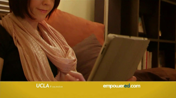 Empowered UCLA Extension TV Spot, 'Better Job' Featuring George Lopez - Thumbnail 7