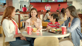 Wendy's Right Price Right Size Menu, 'Disfrutar' TV Spot [Spanish]