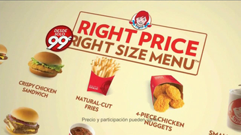 Wendy's Right Price Right Size Menu, 'Disfrutar' TV Spot [Spanish] - Thumbnail 9