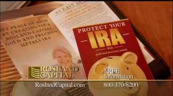 Rosland Capital TV Spot, 'Protect Your IRA' - Thumbnail 4