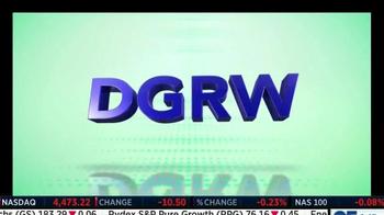 WisdomTree DGRW TV Spot