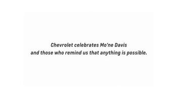 Chevrolet TV Spot, 'Throw Like a Girl' Featuring Mo'ne Davis - Thumbnail 8