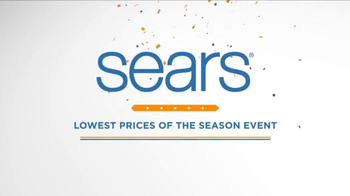 Sears Lowest Prices of the Season Event TV Spot, 'Discover Savings' - Thumbnail 5
