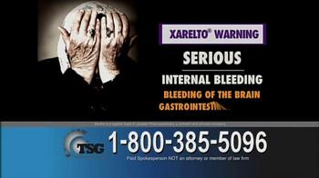 The Sentinel Group TV Spot, 'Blood Thinner Xarelto' - Thumbnail 3