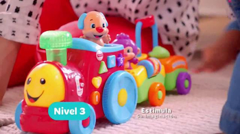 Fisher Price Puppy's Smart Stages Train TV Spot, 'Niveles' [Spanish] - Thumbnail 8