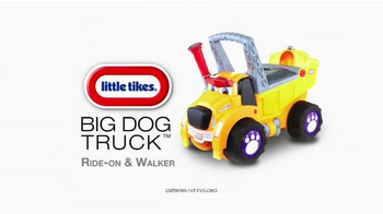 Little Tikes Big Dog Truck Ride-On & Walker TV Spot 'New Dog in Town' - Thumbnail 9