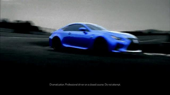 Lexus RC F TV Spot, 'From Road to Race Circuit' - Thumbnail 5
