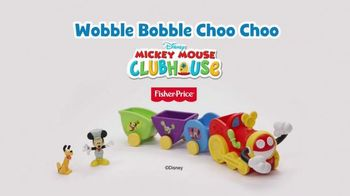 Fisher Price Wobble Bobble Choo Choo TV Spot, 'Mickey Mouse Clubhouse' - Thumbnail 10