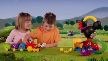 Fisher Price Wobble Bobble Choo Choo TV Spot, 'Mickey Mouse Clubhouse' - Thumbnail 4