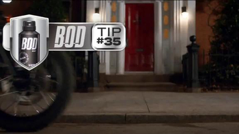 Bod Man Body Spray TV Spot, 'Motorcycle' - Thumbnail 1