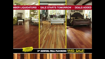 Lumber Liquidators 3rd Annual Fall Flooring Yard Sale TV Spot, 'Deals' - Thumbnail 4