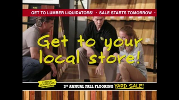 Lumber Liquidators 3rd Annual Fall Flooring Yard Sale TV Spot, 'Deals' - Thumbnail 9
