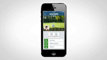 GolfNow.com Mobile App TV Spot, 'Get Accurate Yardages and Keep Score' - Thumbnail 7
