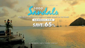 Sandals Resorts TV Spot, 'Absolutely Everything' - Thumbnail 10