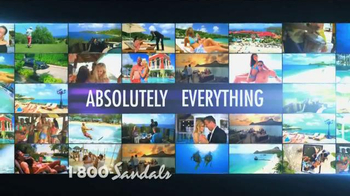 Sandals Resorts TV Spot, 'Absolutely Everything' - Thumbnail 4