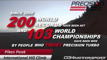 Precision Turbo and Engine TV Spot, 'Champions & Record Holders' - Thumbnail 1