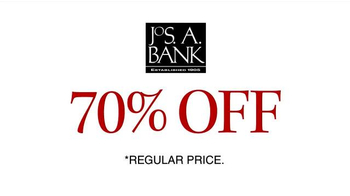 JoS. A. Bank 70% Off Most Items TV Spot, 'Stock Up on Pants, Ties and More' - Thumbnail 2