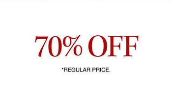 JoS. A. Bank 70% Off Most Items TV Spot, 'Stock Up on Pants, Ties and More' - Thumbnail 4