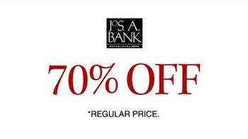 JoS. A. Bank 70% Off Most Items TV Spot, 'Stock Up on Pants, Ties and More' - Thumbnail 6