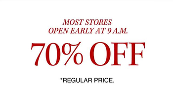 JoS. A. Bank 70% Off Most Items TV Spot, 'Stock Up on Pants, Ties and More' - Thumbnail 9