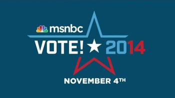 MSNBC 2014 Vote! TV Spot - Thumbnail 10
