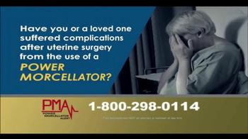 Power Morcellator Alert TV Spot, 'Call PMA Now' - Thumbnail 2