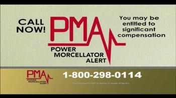 Power Morcellator Alert TV Spot, 'Call PMA Now'