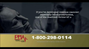 Power Morcellator Alert TV Spot, 'Call PMA Now' - Thumbnail 8