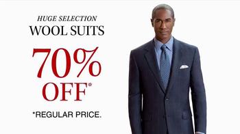 JoS. A. Bank TV Spot, 'October: 70% Off Wool Suits' - Thumbnail 4