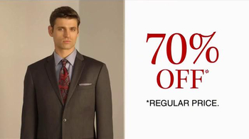 JoS. A. Bank TV Spot, 'October: 70% Off Wool Suits' - Thumbnail 6