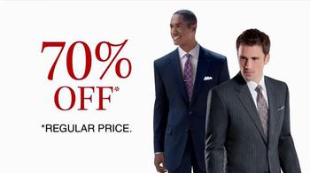 JoS. A. Bank TV Spot, 'October: 70% Off Wool Suits' - Thumbnail 8