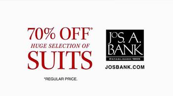 JoS. A. Bank TV Spot, 'October: 70% Off Wool Suits' - Thumbnail 9