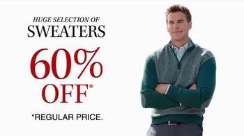 JoS. A. Bank TV Spot, 'October: 60% Off Sweaters' - Thumbnail 3