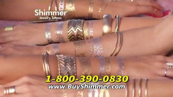 Shimmer Jewelry Tattoos TV Spot, 'All New' - Thumbnail 8