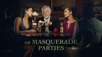 Dos Equis TV Spot, 'Masquerade Parties' - 77 commercial airings