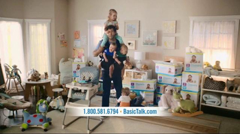 BasicTalk TV Spot, 'Babysitter' - 1628 commercial airings