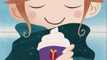 McDonald's McCafé White Chocolate TV Spot, 'Warm Up to Winter' - 1367 commercial airings