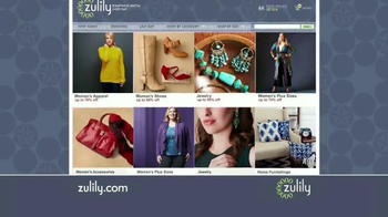 Zulily TV Spot, 'Everyday Sales' - 2601 commercial airings