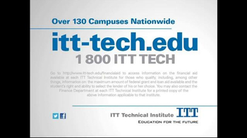 ITT Technical Institute TV Spot, 'Tuition Rate Freeze' - Thumbnail 9