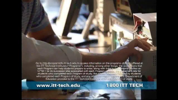 ITT Technical Institute TV Spot, 'Tuition Rate Freeze' - Thumbnail 4