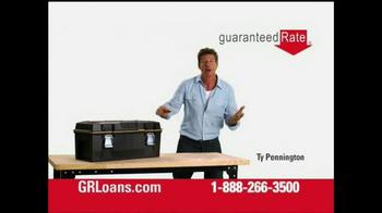 Guaranteed Rate TV Spot, 'Tools' Featuring Ty Pennington - Thumbnail 1